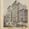 Fifth Avenue entirely given over to business. View at Eighteenth Street, showing the [?] office buildings