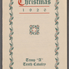 Christmas 1920, Troop A, 34: Fort Huachuca, Arizona, 10th Cavalry, Christmas