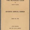 The Reveille Club of New York Seventh Annual Dinner