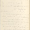 Hall, [Frederick J.], ALS to. Aug. 17, 1886.