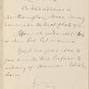 Webster, C[harles] L., & Co., ALS to. Jul. 24, 1887.