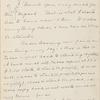 Hall, [Frederick J.], & C[harles] L. W[ebster], ALS to. Aug. 15, 1887.