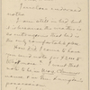 Hall, [Frederick J.], ALS to. May 5, 1893.