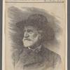 Giuseppe Verdi. Stitch von E. Mancastropa nach einer Photographie von A. Ferrario.