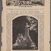 Das neue Jules Verne=Denkmal in Amiens. Photographie von Charles Delius, Paris.