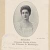 Hélène Princesse Royale d'Italie, née Princesse de Monténégro.