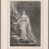 Queen Victoria taking the oath of office. 1837. Age 18 years. From a painting by Hayter. Engraved by W.H. Egleton in 1851. Reproduced by permission of Henry Graves & Co., Limited, London.