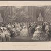 Queen Victoria at the Tuleries. August 1855.