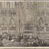 TheJubilee Thanksgiving service in Westminster Abbey, June 21, 1887.