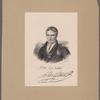 J.H. De Villèle. J.H. De Villèle [signature].