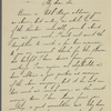 Ceall [Croll], D., ALS to SLC. Jan. 29, 1906.
