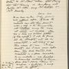 Collier, Mrs. Robert, AL to. Feb. 21, 1906. Copy in Isabel Lyon's hand.