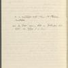 Howells, W[illiam] D[ean], AL to. Feb. 25, 1906. Copy in Isabel Lyon's hand.