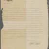 Hall, W. T., ALS to SLC. Mar. 15, 1906.