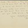 Aldrich, T[homas] B., ALS to SLC. Apr. 11, 1906.