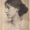 Portrait photograph of Virginia Woolf