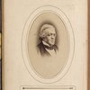 Portrait photograph of William Makepeace Thackeray]