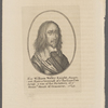 Sir William Waller Knight, Sargent Maior Generall of ye Parliaments Army & one of the members, of ye Honoble. House of Commons, 1643.
