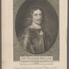 Sir William Waller, General of the Parliament Forces. 1647. Engraved from an original picture in the possession of the Earl of Harcourt.