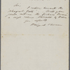 Librarian, Harvard University, [T. W. Harris], ALS to. Oct. 23, 1854.