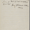 [Thoreau], H[elen], letter to, copy in the hand of  Ralph Waldo Emerson. Oct. 27, 1837.