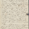 [Thoreau], Helen, ALS to. Oct. 6, 1838.