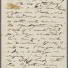 [Thatcher, George A.?], ALS to. Jul. 11, 1857.