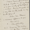 Cholmondeley, Thomas, ALS to HDT. Oct. 3, [1855].