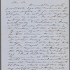[Higginson, T. W.], ALS to. Jan. 28, 1858.