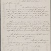 Jones & Denyse, ALS to John Thoreau. Nov. 17, 1855. Previously Jones & Dingle...