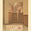 Zweiter Nebenraum, Nordwand, Fensternische und Detail.