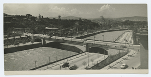 [Tbilisi: View of bridge.]
