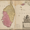 Nouvelle carte de l'isle de Corse apartenante a la republique de Genes.
