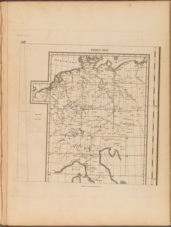 This is What Captain Chauchard and Index Map Looked Like  on 6/4/1800
