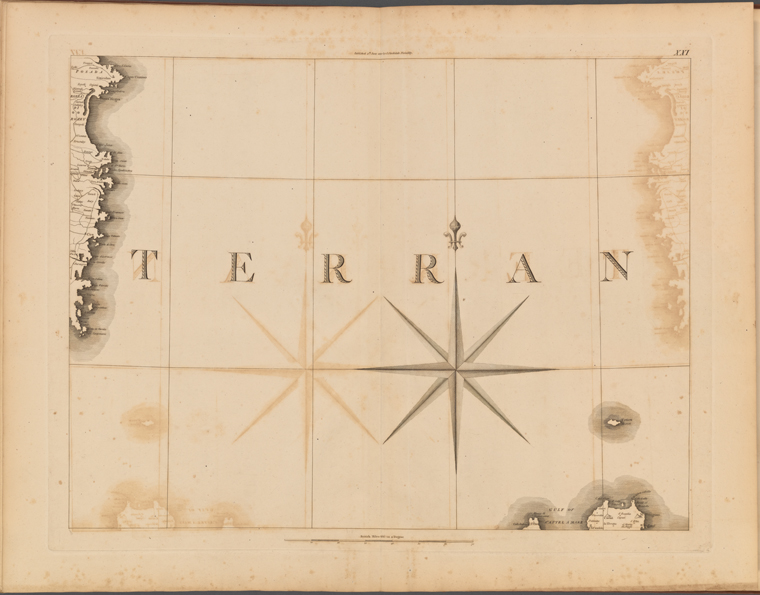 This is What Captain Chauchard and Plate XXI: A general map of the empire of Germany Holland the Netherlands Switzerland the Grisons Italy Sicily Corsica and Sardinia Looked Like  on 6/4/1800