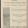 The Negro Motorist Green Book: 1948: A Classified Motorist & Tourist Guide Covering the United States & Alaska