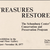 Treasures Restored