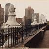 Penthouse terrace, Central Park West
