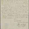 Letter from John Winthrop