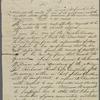 Letter from Hugh Ferguson