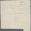 Letter from Marie Joseph Paul Yves Roch Gilbert du Motier, Marquis de Lafayette
