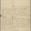 Letter from Anthony Charles Cazenove