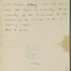Letter from Joseph Story