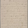 Letter from Francis Preston
