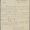 Letter from Richard Forrest