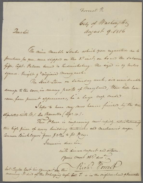 on 8/9/1816