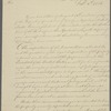 Letter from Benjamin Homans to Daniel T. Patterson