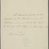 Letter from Gibbs Crawford Antrobus