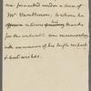 Letter to Martin Van Buren