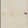 Letter from Isaac Hite